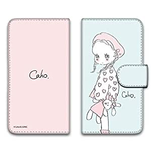 caho 保护套印花翻盖毛绒玩具和小女孩手机保护壳翻盖式适用于所有机型  ぬいぐるみと少女E 2_ Xperia X F5121
