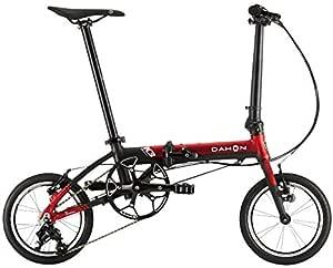 DAHON 2020款 K3 3段变速 折叠自行车 20K3RDBK00 红色/亚光黑