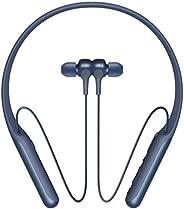 Sony 索尼 WI-C600N 无线蓝牙降噪入耳式耳机(AINC,NFC,Amazon Alexa,Google Assistant,6.5h电池,快速充电功能,磁性耳塞),蓝色