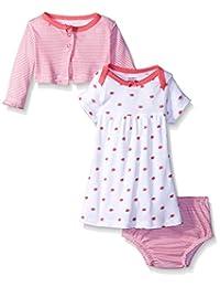 Gerber 女婴开衫和连衣裙套装