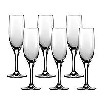 RONA 洛娜 进口Degrenne Montmartre系列气泡酒香槟笛杯 210ml 六只装