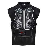Lixada 男士摩托车护甲 MTB 自行车骑行护胸背保护摩托车越野赛赛车背心