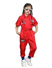 LOLANTA 男孩女孩时尚连身衣前拉链连体服嘻哈街舞服装