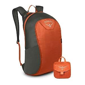 Osprey 中性 压缩随身包 Ultralight Stuff Pack 橙色 均码 可折叠收纳超轻便携双肩背包348063-719150862460(两种LOGO随机发)