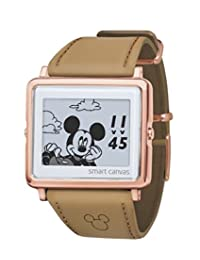 [epson smartcanvas]epson smartcanvas mickey & friends 光滑皮革 手表 w1-dy30440
