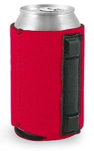 磁性氯丁橡胶可折叠罐冷却机 红色 12盎司 MagneticKoozieBlack