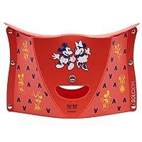 SOLCION 折叠椅 mickey & minnie 红色 高18cm PATATTO 180 (啪嗒180) 迪士尼 日本制造 Dis187