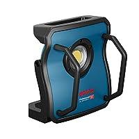 Bosch 博世 专业 18V 系统电池 建筑射灯 GLI 18V-10000 C(无电池,18伏系统,照明强度:10,000 lm,纸箱中)