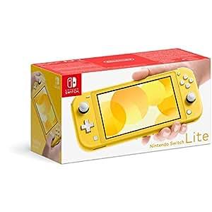 Nintendo 任天堂 Switch Lite 便携式游戏机 NS掌机 黄色