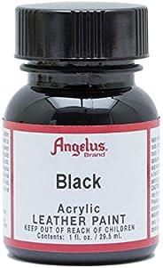 Angelus Acrylic Paint 1 Oz. (Black)