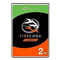 Seagate 希捷 FireCuda 游戏(计算)2TB固态混合驱动器性能SSHD –2.5英寸SATA 6GB/秒闪存 适用游戏PC笔记本电脑加速-简装(ST2000LX001)
