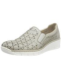 Rieker 女式537l7乐福鞋