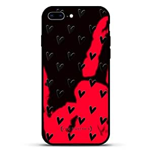 Luxendary State of Texas:iPhone 8/7 Plus 系列LUX-I8PLMGM-HEARTS3 CUTE HEARTS PATTERN (STYLE #3) iPhone 8Plus/7Plus Magma(变色)