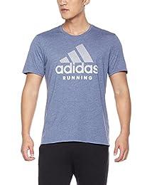 adidas 阿迪达斯 男式 运动感应 跑步短袖T恤 RS SOFT TEE M
