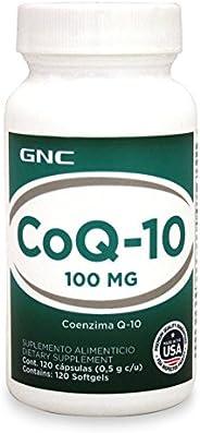 GNC 健安喜 輔酶Q10補充劑,100毫克,120粒軟膠囊 (新老包裝 交替發貨)