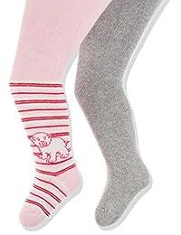 Playshoes Baby Warme Und 松紧带保温软管裤(两件装)