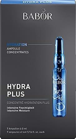 BABOR芭宝Hydra Plus保湿滋润安瓶精华液 玻尿酸原液滋润补水 小白瓶 收缩毛孔 2ml*7支