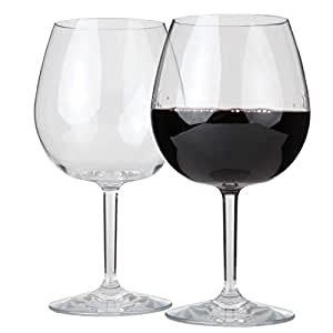 Lily's Home Unbreakable 室内/室外 Pinot Noir *杯,防碎,可重复使用。 透明 1