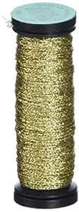 Kreinik Fine #8 编织金属螺纹颜色及包装尺寸 #002-gold 1-包每包 1 条 F-002