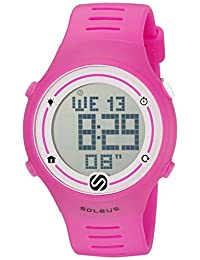 SoleusSprint digital 聚氨酯 粉色 SR022-630 running-watches