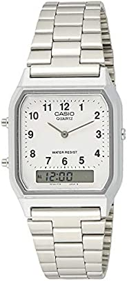 Casio General Men's Watches Digital-Analog Combination with 10 Year Battery Life AQ-230A-7BMQ