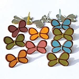 Eyelet Outlet Butterfly Brads Fall