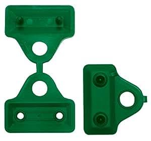 Tenax 06835卡夹绿色塑料,5厘米,12件装