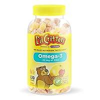 L'il Critters 小熊糖 儿童Omega 3健脑小熊软糖 120粒