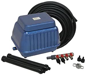 Easypro Diaphragm Linear Aeration Kit for Ponds 17500-Gallon