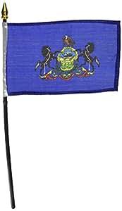 宾夕法尼亚州旗 10.16 x 15.24 cm 1 PK SPA46HF