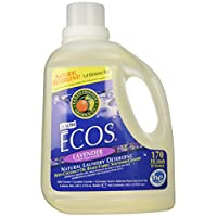 Earth Friendly Products Ecos Liquid Laundry Detergent, Lavender, 170 Ounce