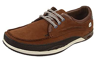 Clarks 男 生活休闲鞋Orson Lace 203532397 深棕色皮革 41 (UK 7)(亚马逊自营商品, 由供应商配送)