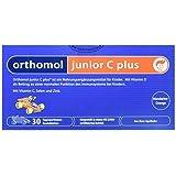 德国原装 Orthomol 奥适宝 juniorCplus儿童强体质营养粉剂橘子味 维持免疫系统 阻挡细菌入侵 30袋(包税)