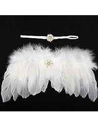 micia luxury 新骨盆 小物 天使羽毛&发带套装 珍珠白