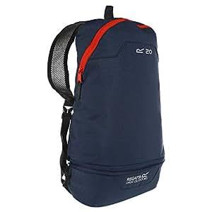 Regatta Packaway 时尚透气紧凑旅行背包 – 深色牛仔布/琥珀光,单人