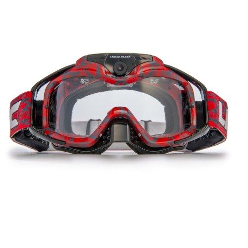 【亚马逊】Liquid Image-Torque HD Camera Goggle眼镜摄像机368R(红色)(适用于户外越野运动)