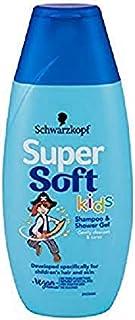Schwarzkopf 超柔儿童男孩洗发水和淋浴凝胶 250 毫升 5 瓶装