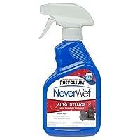 Rust-Oleum 280884 NeverWet 11-Ounce Auto Interior Spray, Clear - 6 Pack