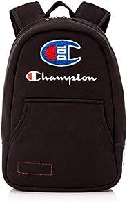 Champion 男式 100 年套頭背包,黑色,均碼
