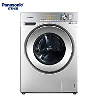 Panasonic 松下 10公斤变频 带烘干 滚筒洗衣机 XQG100-EG128 光动银除菌除螨银色(亚马逊自营商品, 由供应商配送)