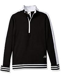 New Balance 女童 1/4 拉链套头上衣