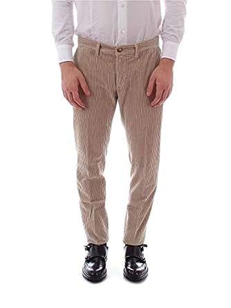 JECKERSON 男人 37PCJUPA53XT22181L7013 米色 棉 裤子/意大利直邮【亚马逊海外卖家】
