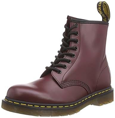 Dr Martens 女士 1460 W 红色 牛皮皮靴 马丁靴 UK(36) (亚马逊自营 保税区发货)