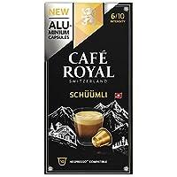 Café Royal Lungo Schüümli 50 Nespresso kompatible Kapseln aus Aluminium, Intensit?t 6/10, (5 x 10 Kaffeekapseln)