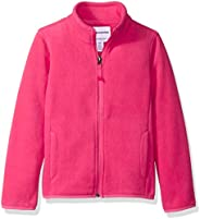 Amazon Essentials 女童全拉链摇粒绒夹克