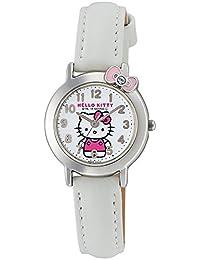 [西铁城 Q&Q]CITIZEN Q&Q 手表 Hello Kitty 指针式 日常生活防水 白色 HK23-002 女孩