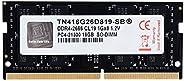 V-Color 8GB (1 x 8GB) 笔记本电脑内存模块* DDR4 非 ECC 2400MHz (PC4-19200) CL17 1.2V SO-DIMM, 笔记本内存模块 (TN48G24S817-SB) TN416G26D819-SB