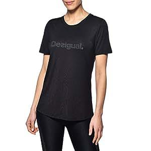 Desigual 女式必需品 T 恤,白色,M 码