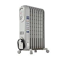 delonghi 德龙 V550920 家用电热油汀取暖器 电暖器 安全恒温省电(亚马逊自营商品, 由供应商配送)
