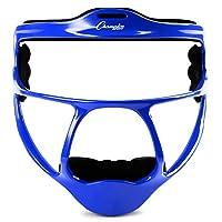Champion Sports 镁成人垒球外野手面具,蓝色